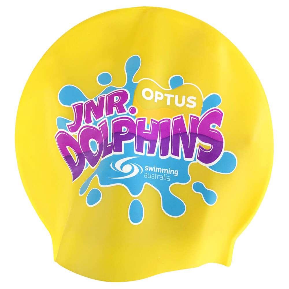 swimcaps_optusjnr_yellow
