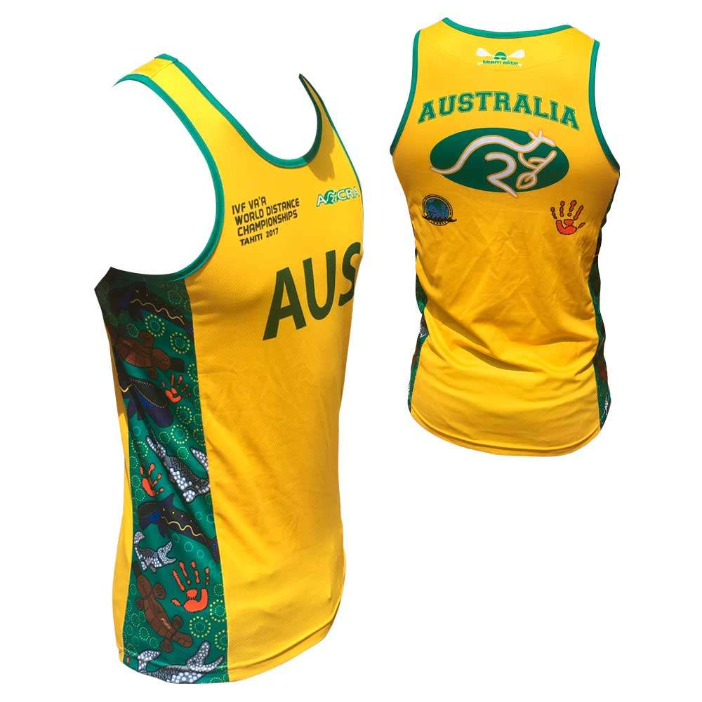 unisex racing singlet sublimated customisable