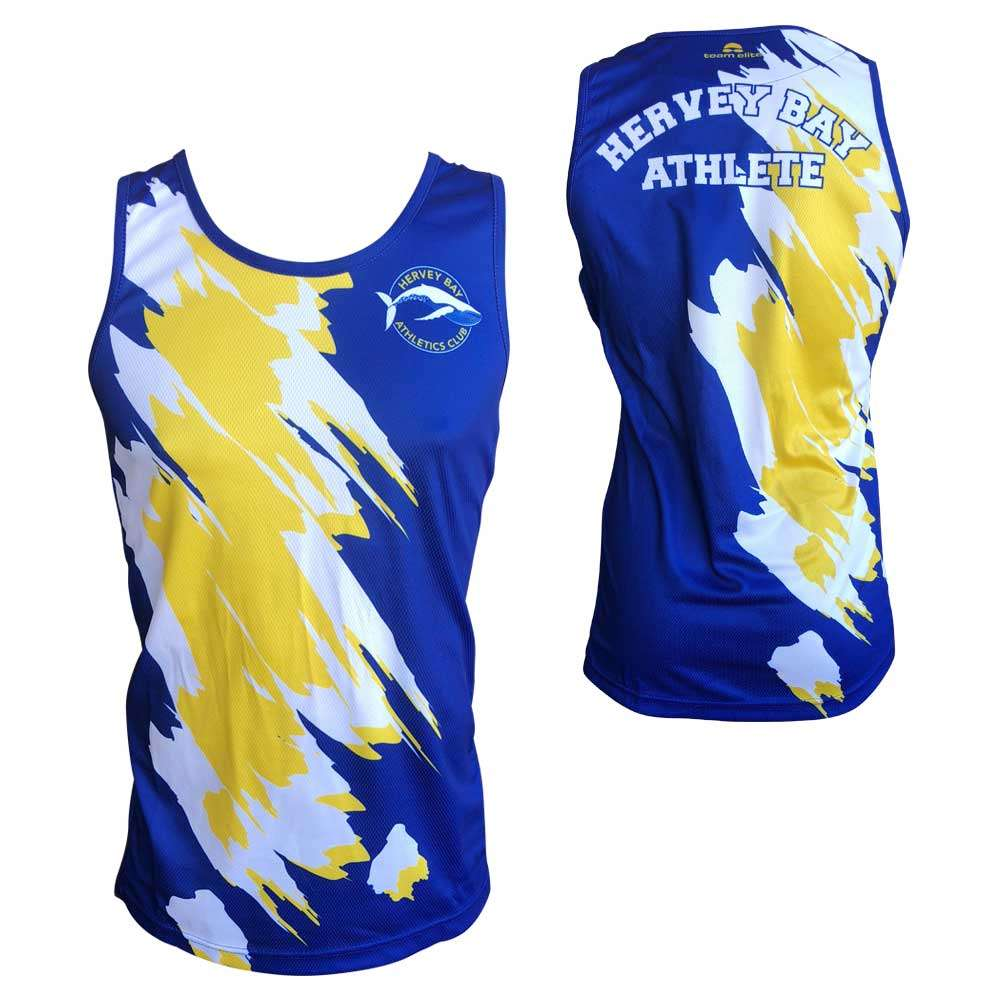 singlet sublimated athletics track field