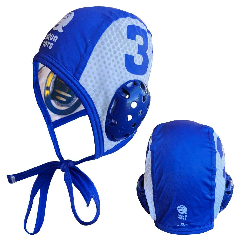 water polo custom bathing caps sublimated