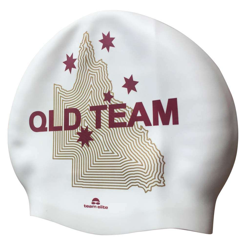 queensland swimming cap custom merchandise event