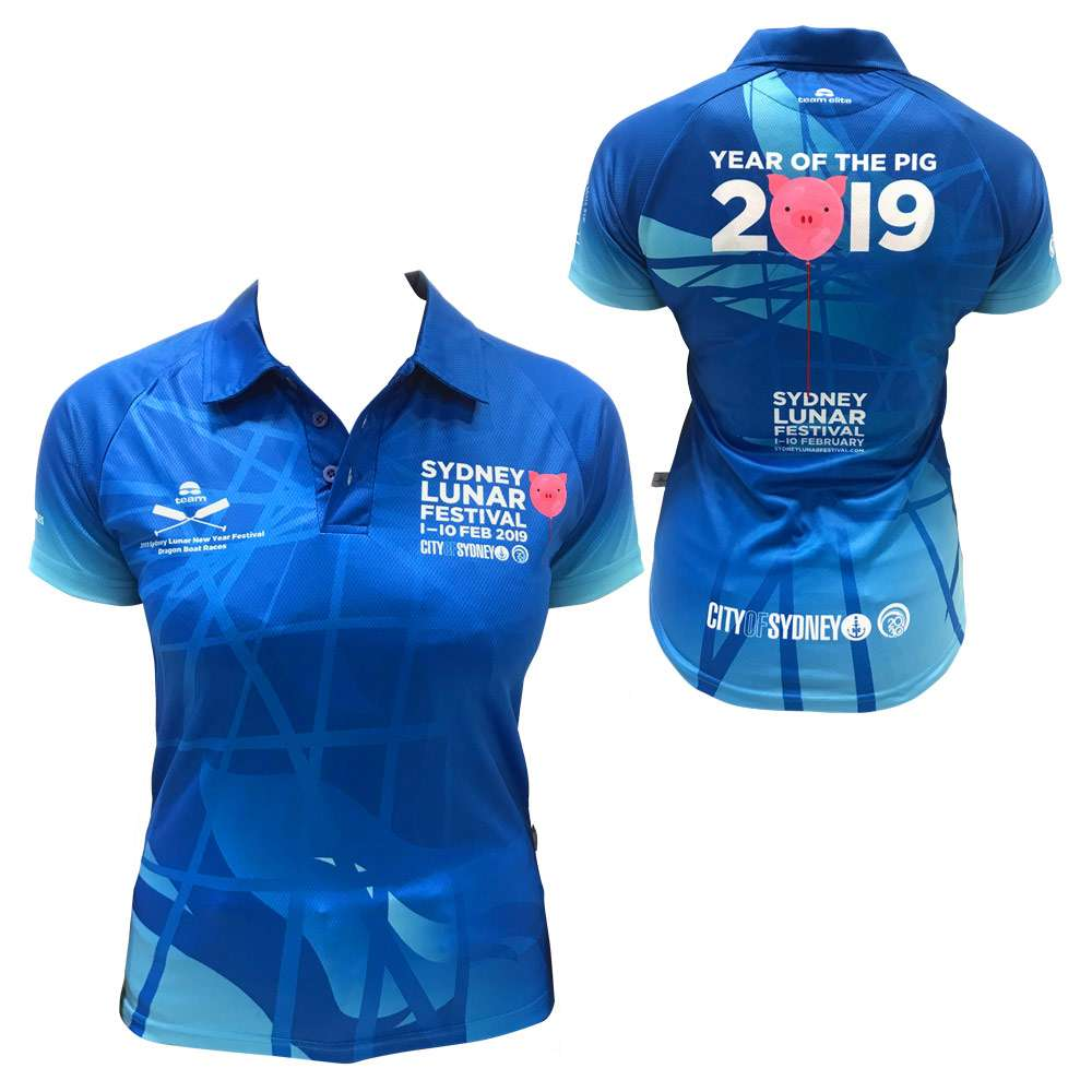 sublimated custom polo event merchandise sydney