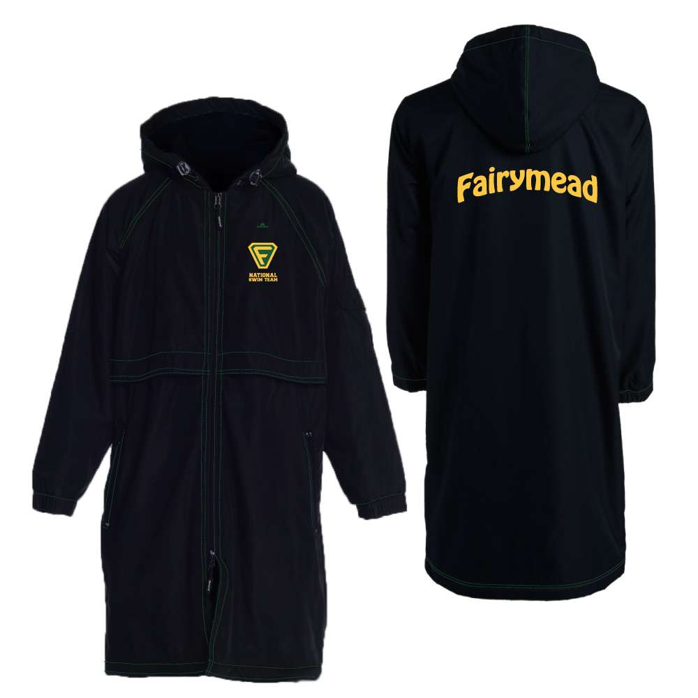 swimming club merchandise deck park jacket coat