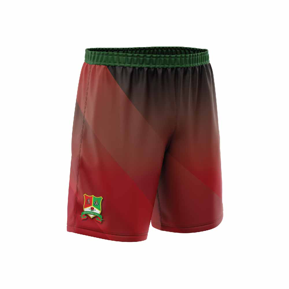 Rugby shorts red green-01
