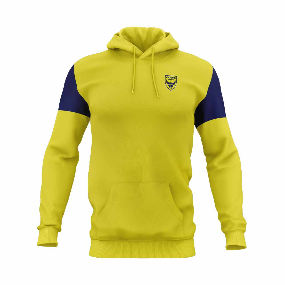 Soccer Hoodie Yellow Front-01