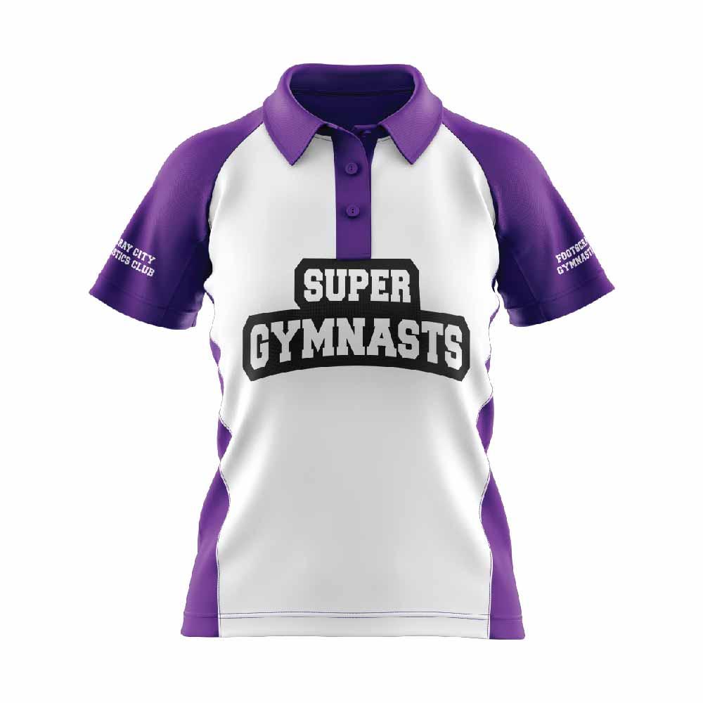 Gymnastics Polo Front-01