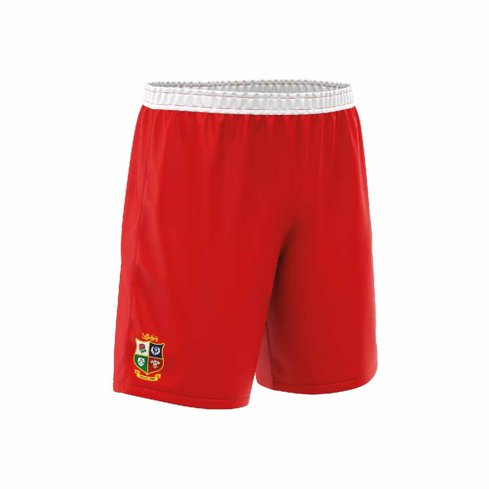 Rugby Shorts Red-01