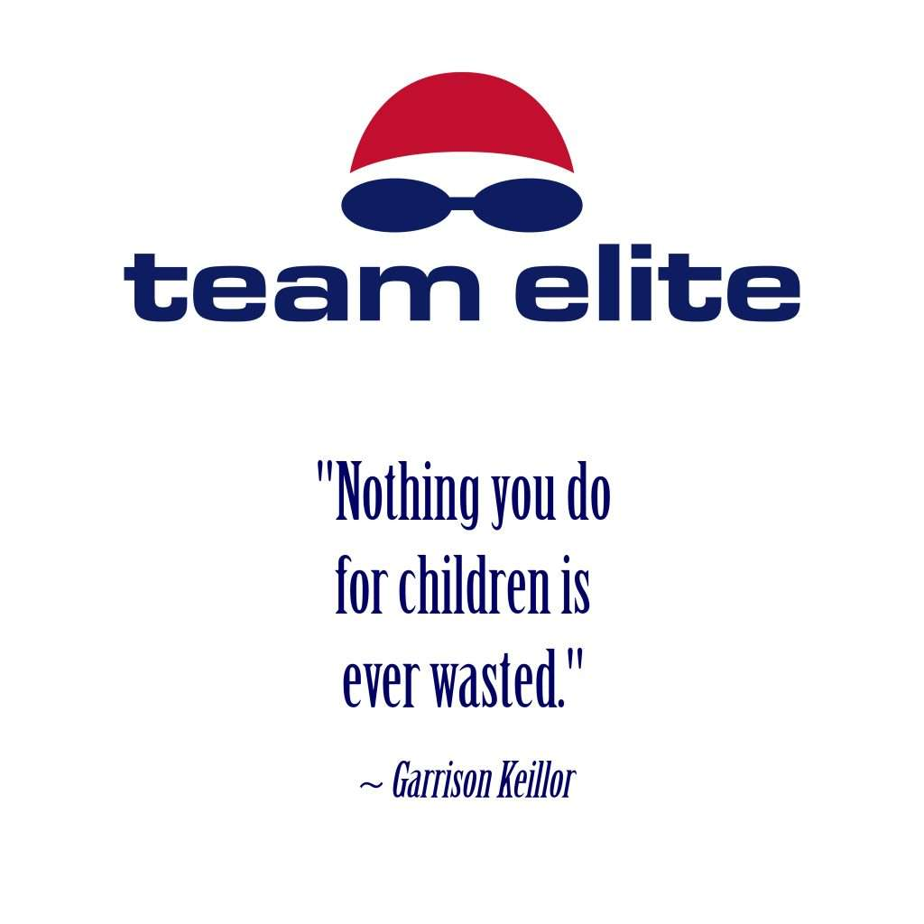 Nothing wasted for children quote