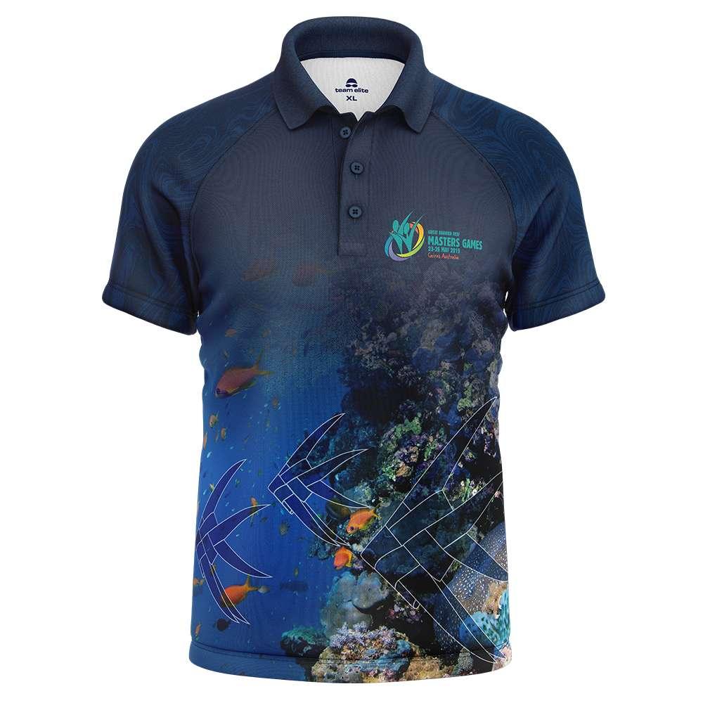 Custom Polo Shirts   Embroidered   Sublimated   Printed